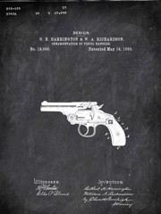 Revolver G H Harrington And W Aichardson Military by Patenta
