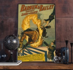 BARNUM & BAILEY - Vintage Advertisement Poster