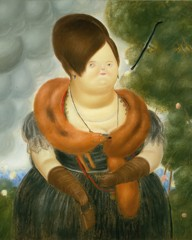 The First Lady by Botero