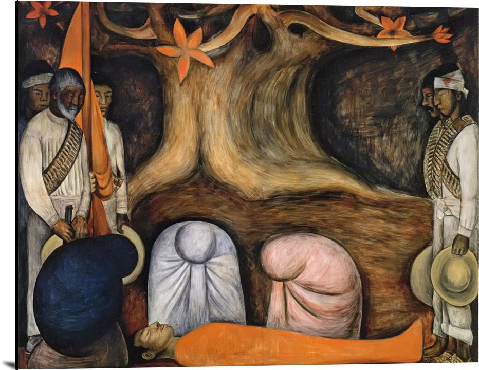Revolution Germination The Flowering Of The Revolution by Diego Rivera