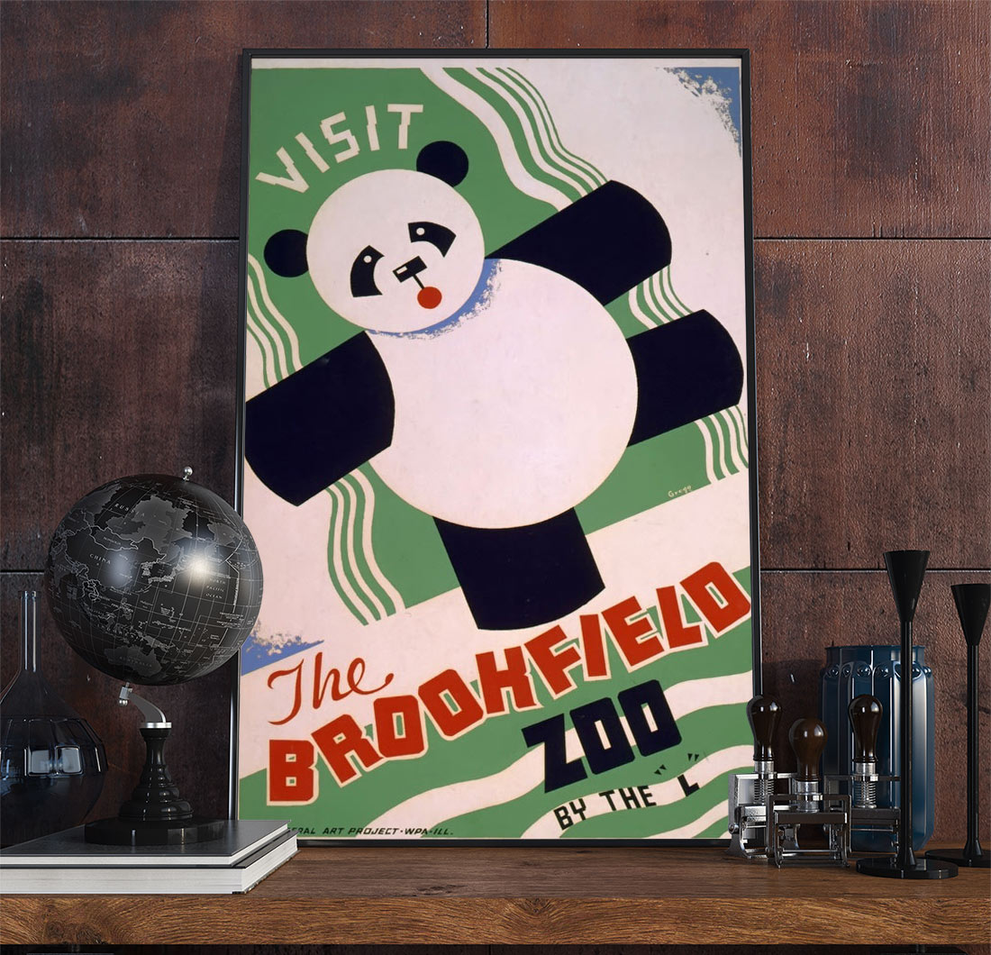 56wpa Advertising Vintage Advertisement Poster