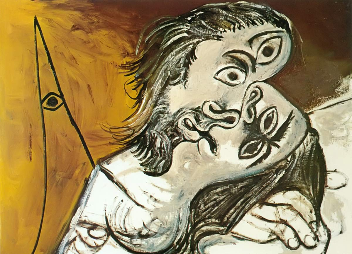 The Kiss 69 Pablo Picasso