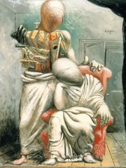 The Poet And His Muse by Giorgio De Chirico