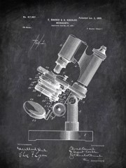 Microscope E Bausch And A Koehler 1899 Technology by Patent