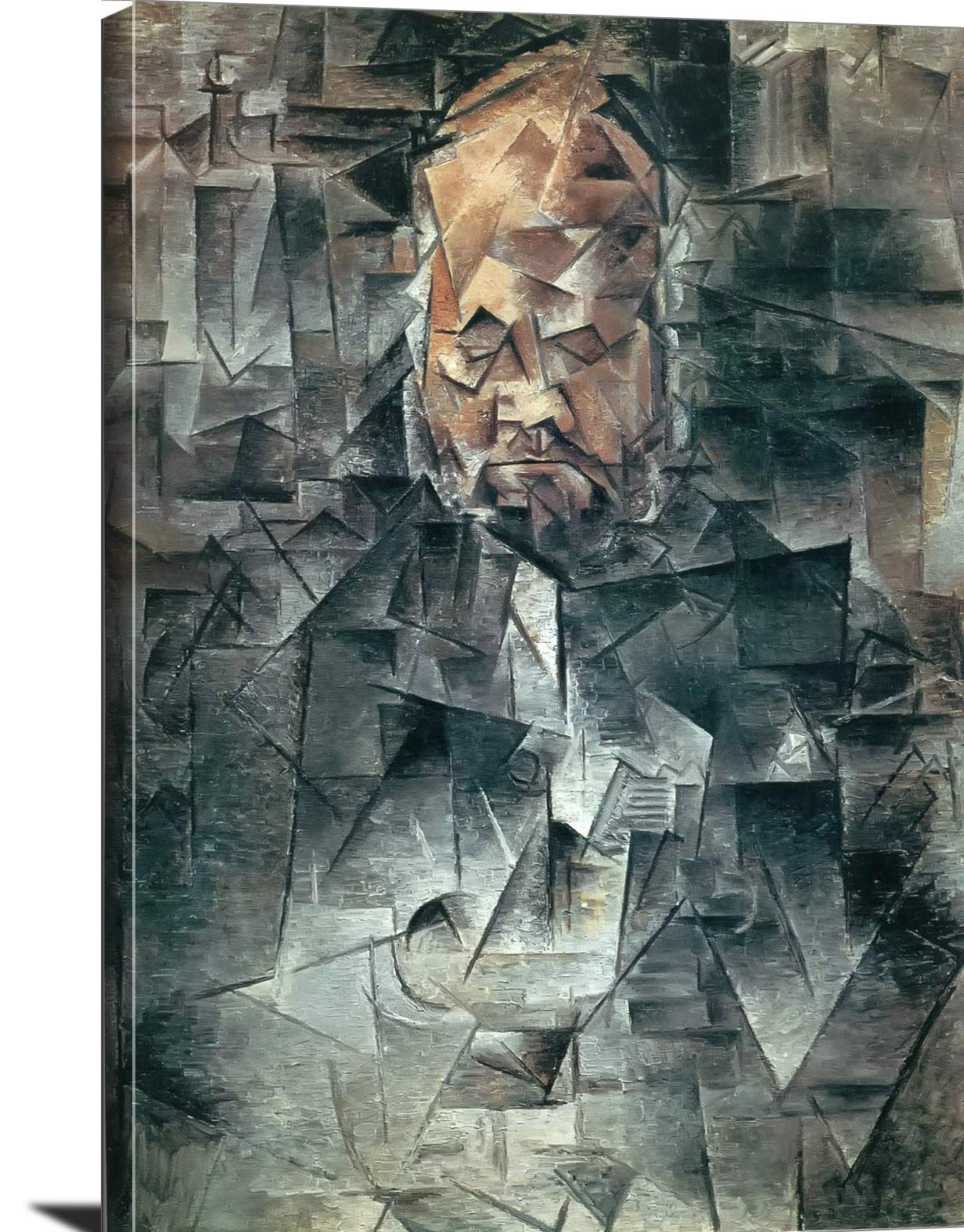 Portrait Of Ambroise Vollard Pablo Picasso