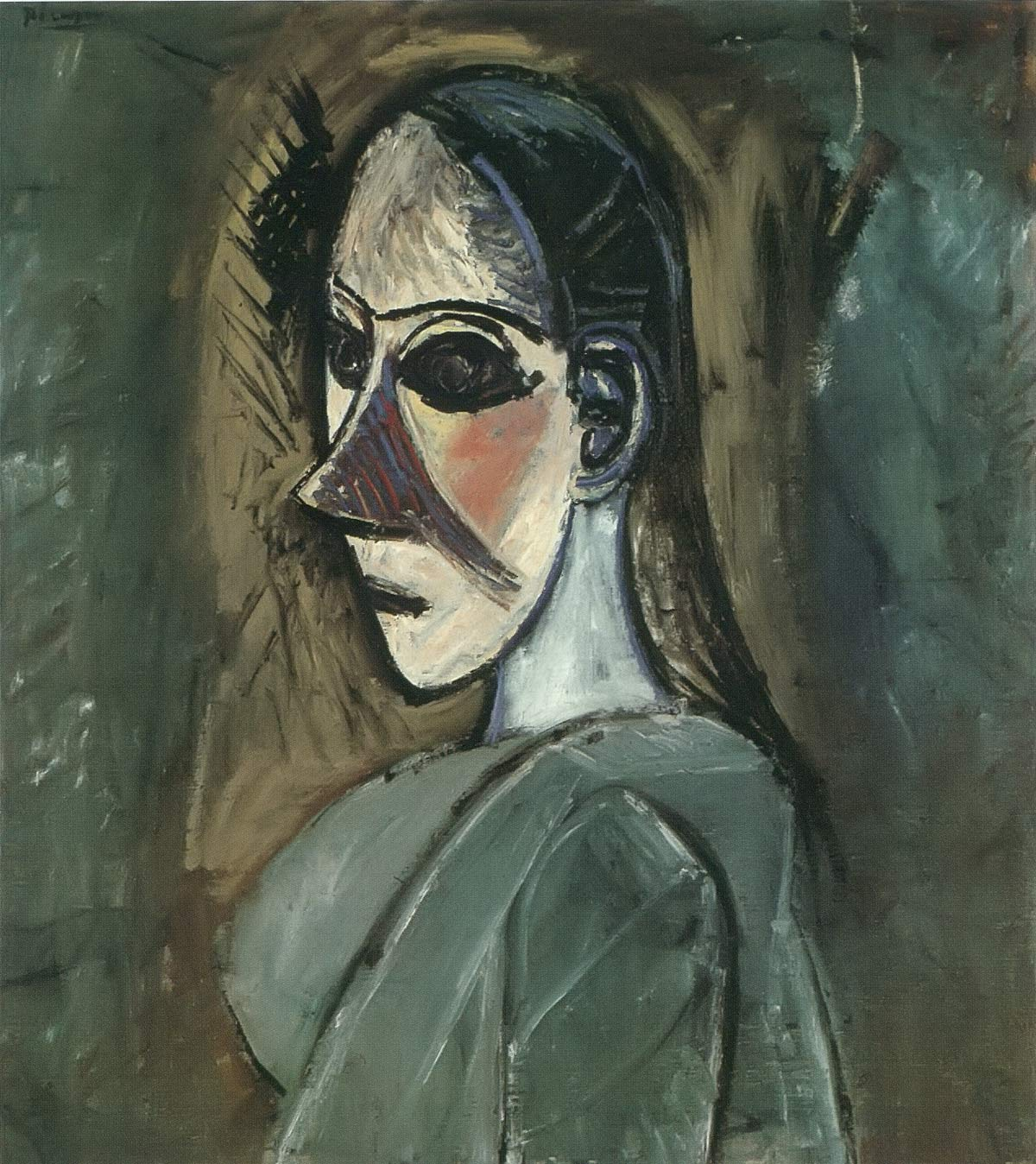 Bust Of A Woman Pablo Picasso