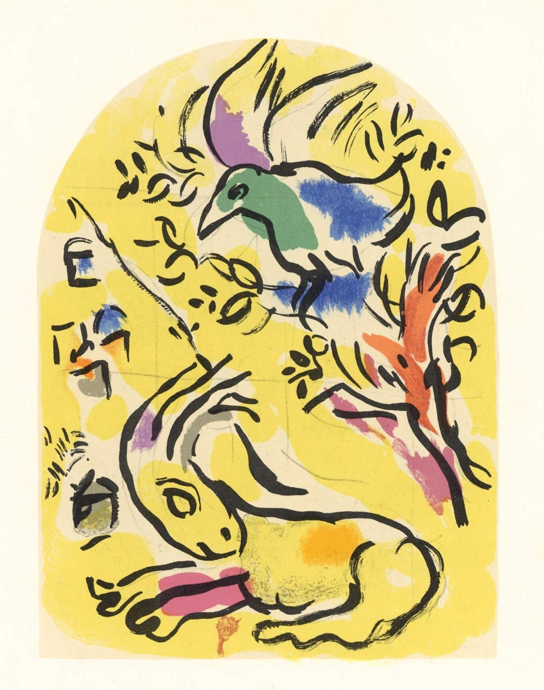 Tribe Of Naphtali2 Marc Chagall