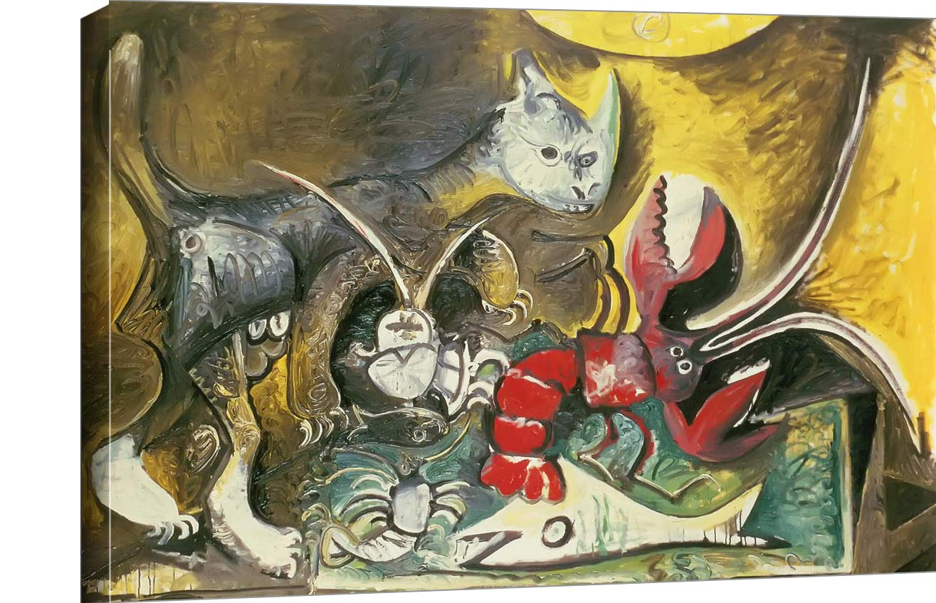 Still Life With Cat 1962 Pablo Picasso