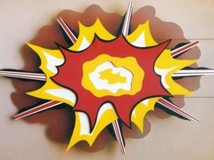Explosion No by Roy Lichtenstein
