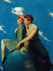 On Top Of The World by Norman Rockwell