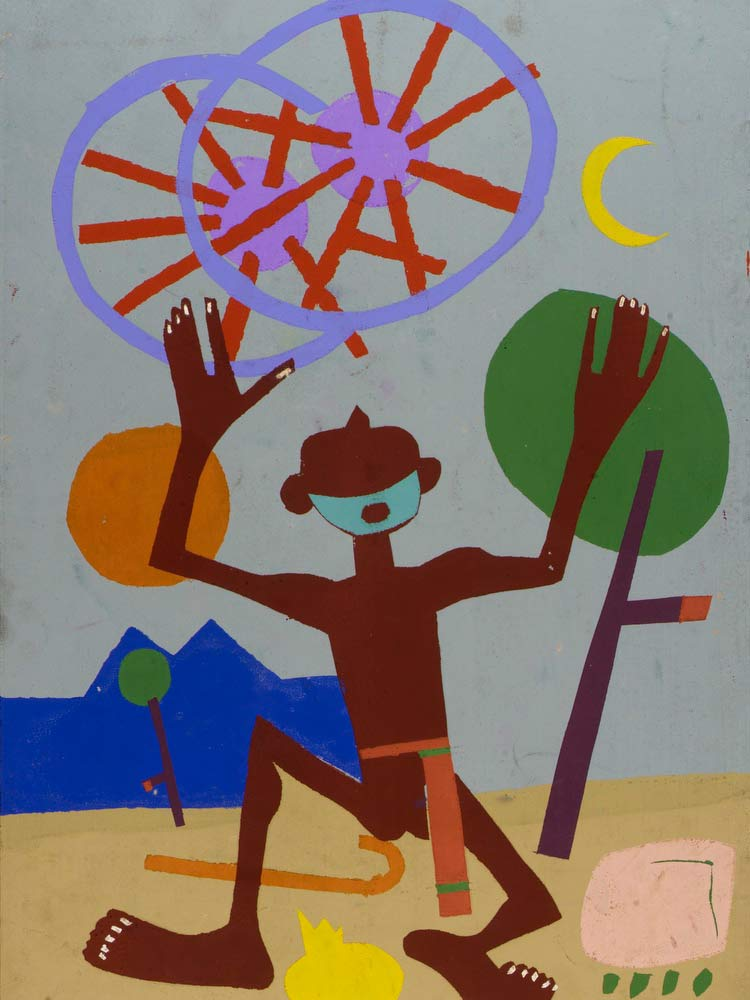 Ezekiel Saw The Wheel William H Johnson