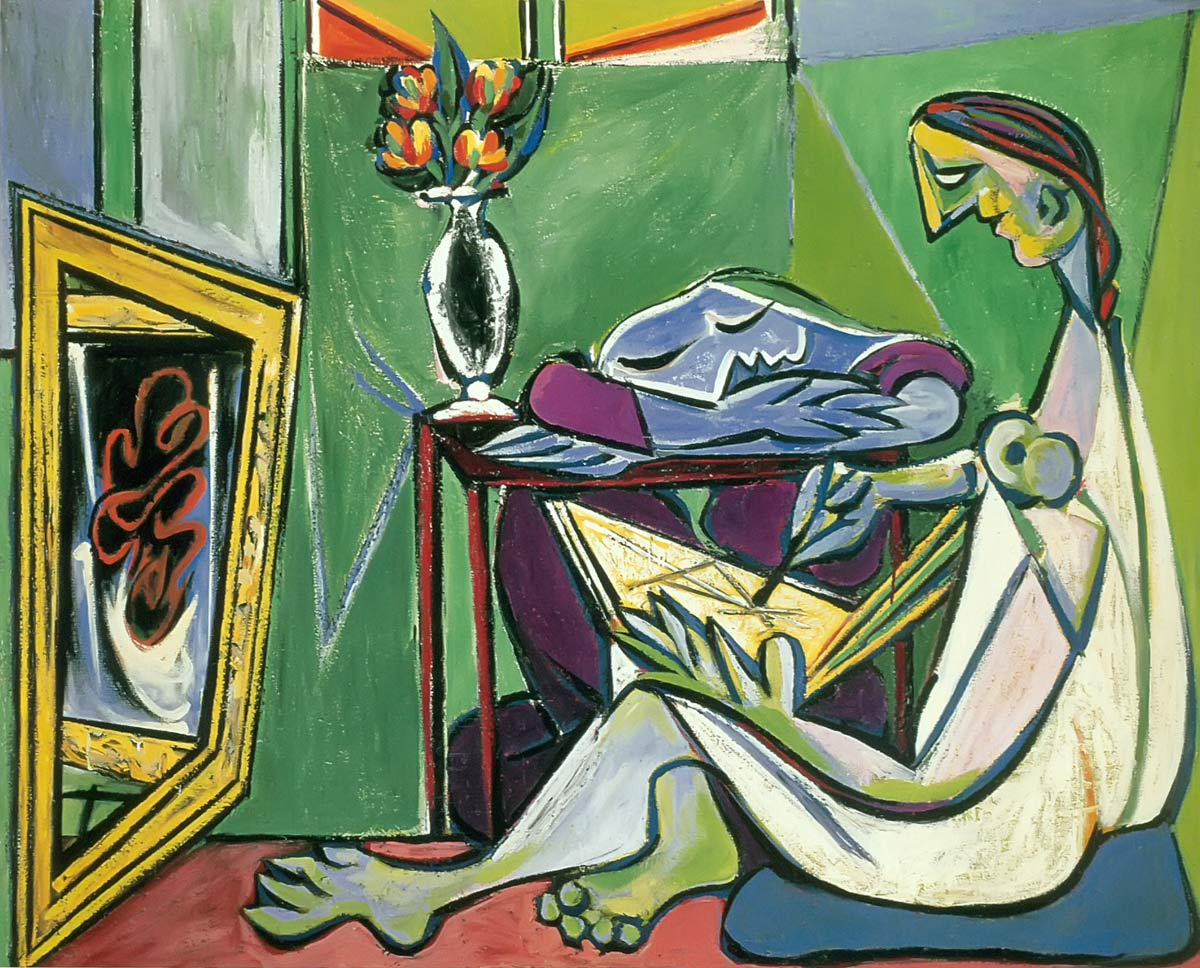 The Muse 1935 Pablo Picasso