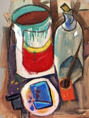 Still Life  Artist's Materials William H Johnson