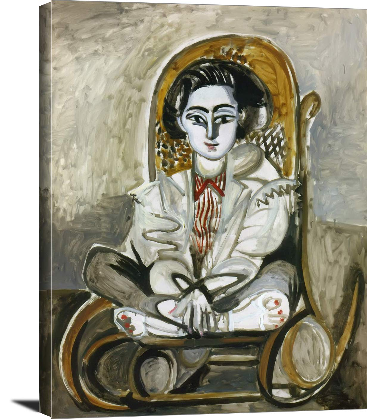 Jacqueline In A Rocking Chair Pablo Picasso