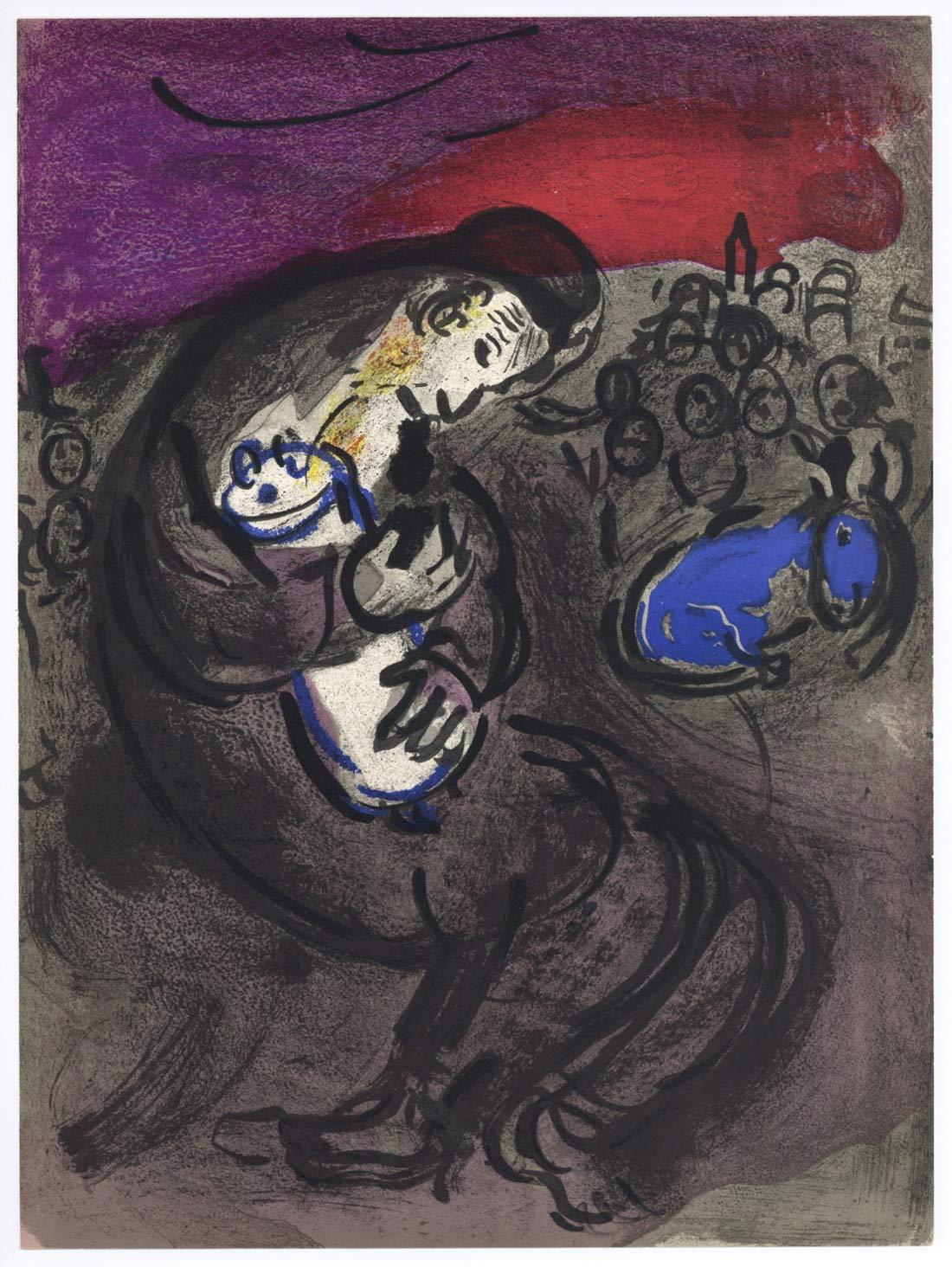 Jeremiahs Lamentations Marc Chagall