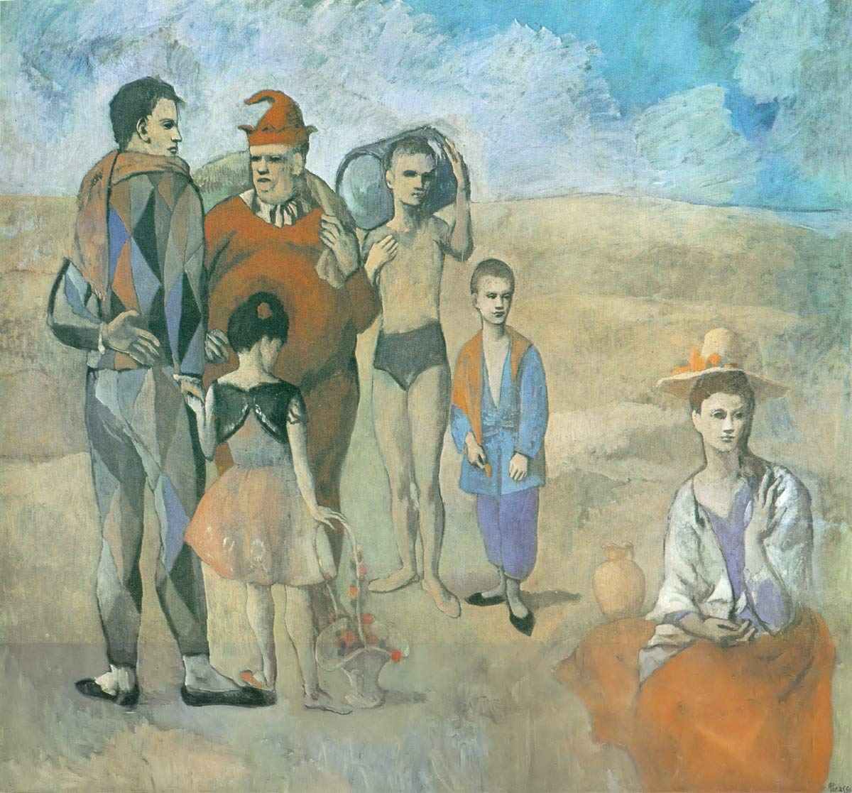 Saltimbanques Pablo Picasso