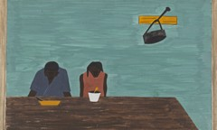 Migration Panel 10 They Were Very Poor by Jacob Lawrence