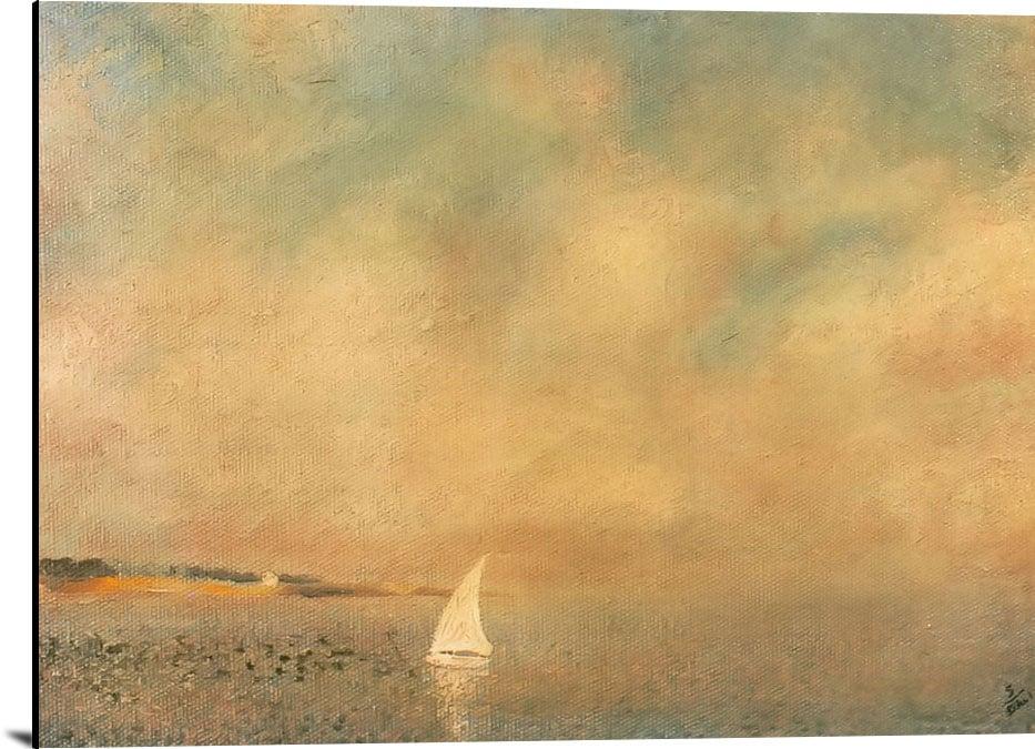 Bay At Cadques by Dali