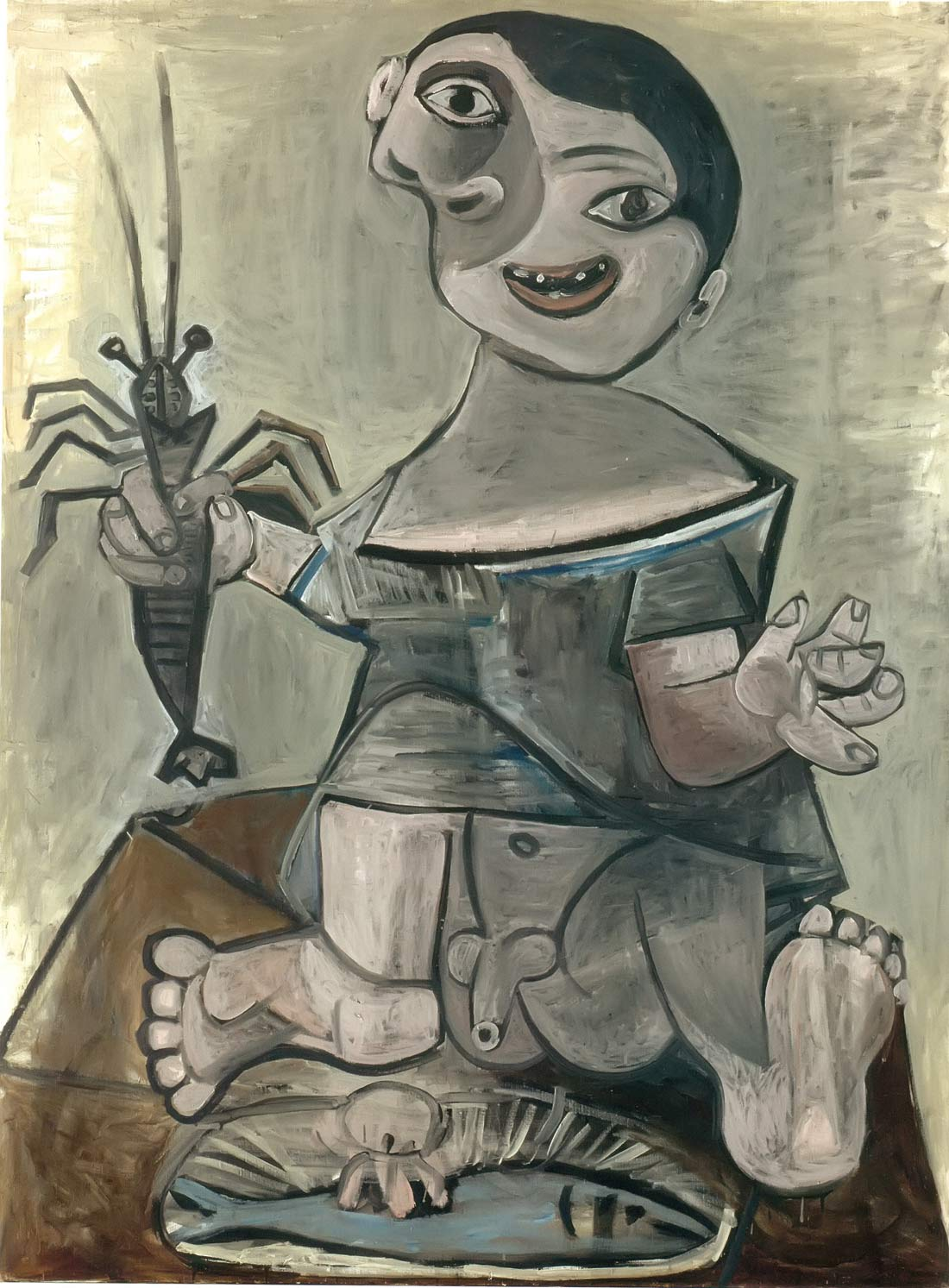 Boy With A Lobster 1941 Pablo Picasso