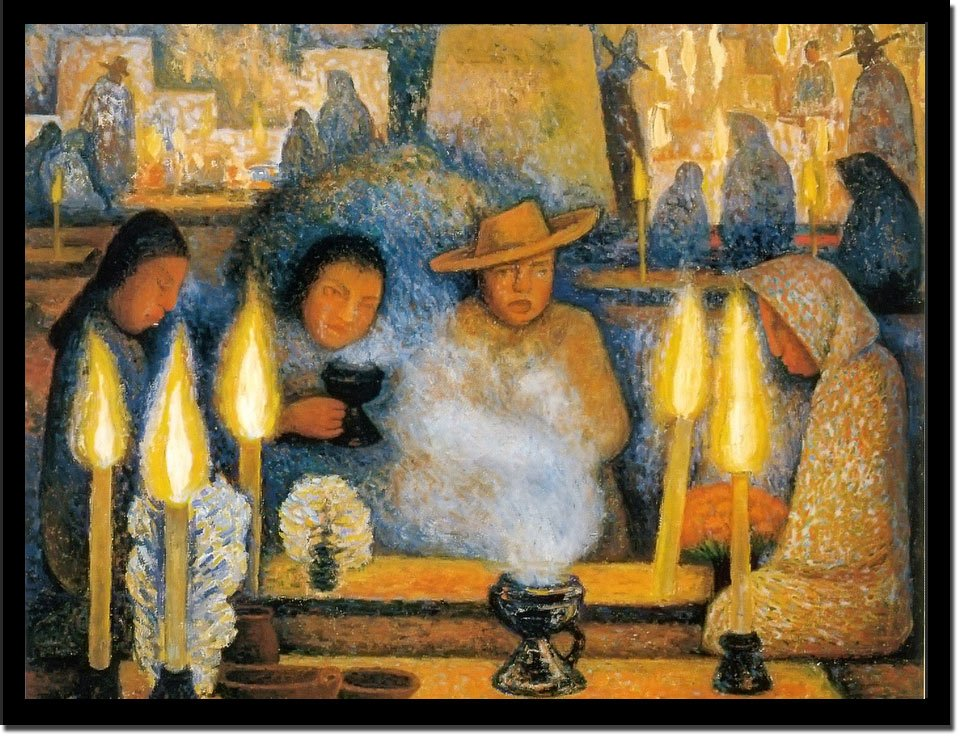 Day Of The Dead by Diego Rivera