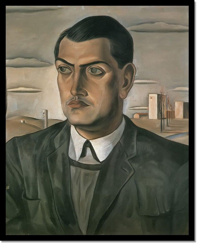 Portrait Of Luis Bunuel by Dali
