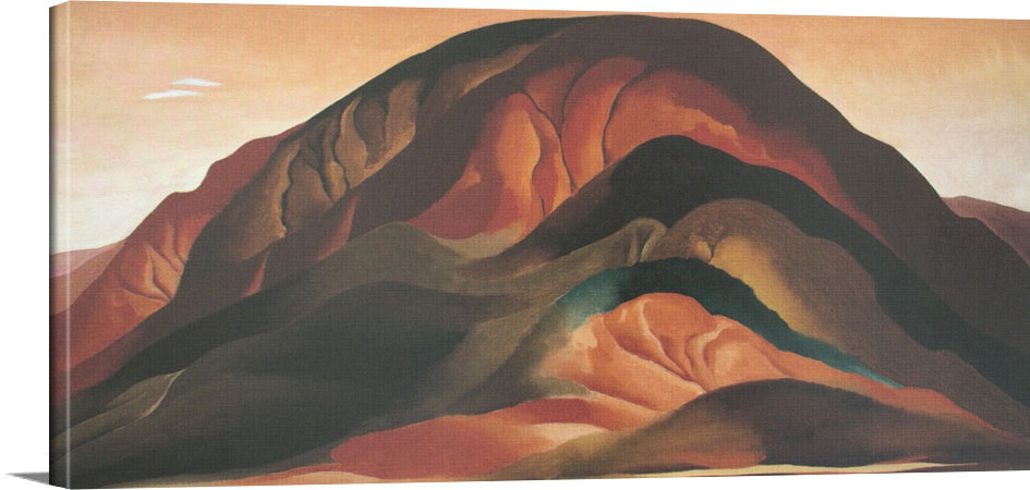 Rust Red Hills by Georgia O Keeffe