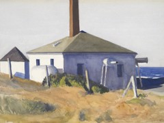 House Of The Fog Horn No. 3 by Edward Hopper