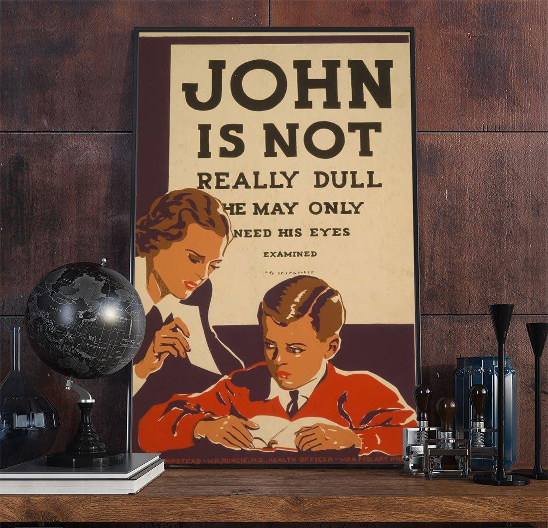 46wpa Advertising Vintage Advertisement Poster