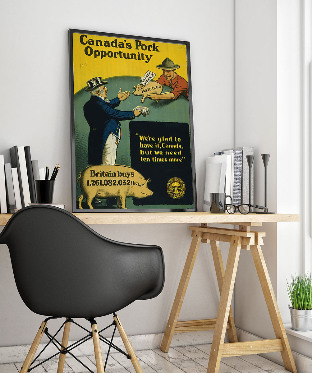 25wpafood Vintage Advertisement Poster