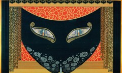 Eyes Of Jealousy by Erte