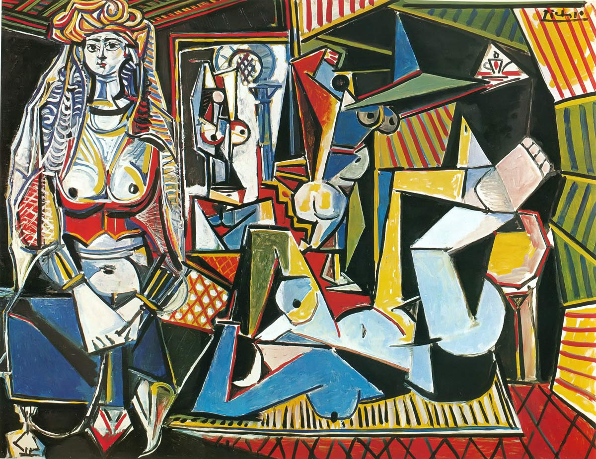 The Women Of Algiers After Delacroix Pablo Picasso
