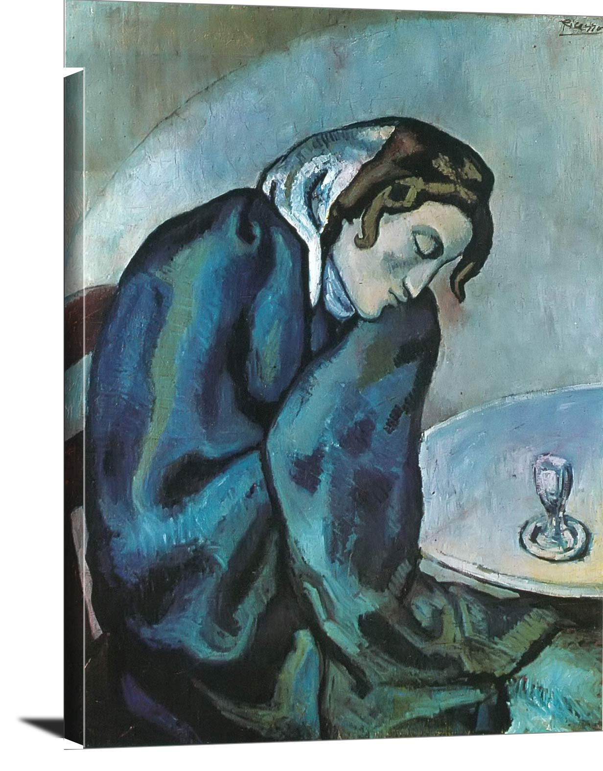 The Sleeping Drinker Pablo Picasso