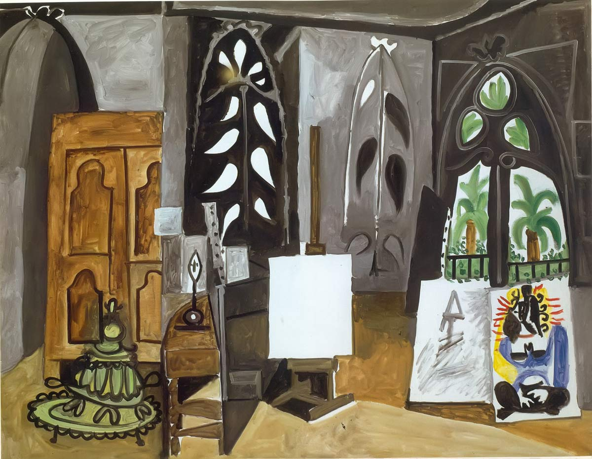 Studio At La Californie Pablo Picasso