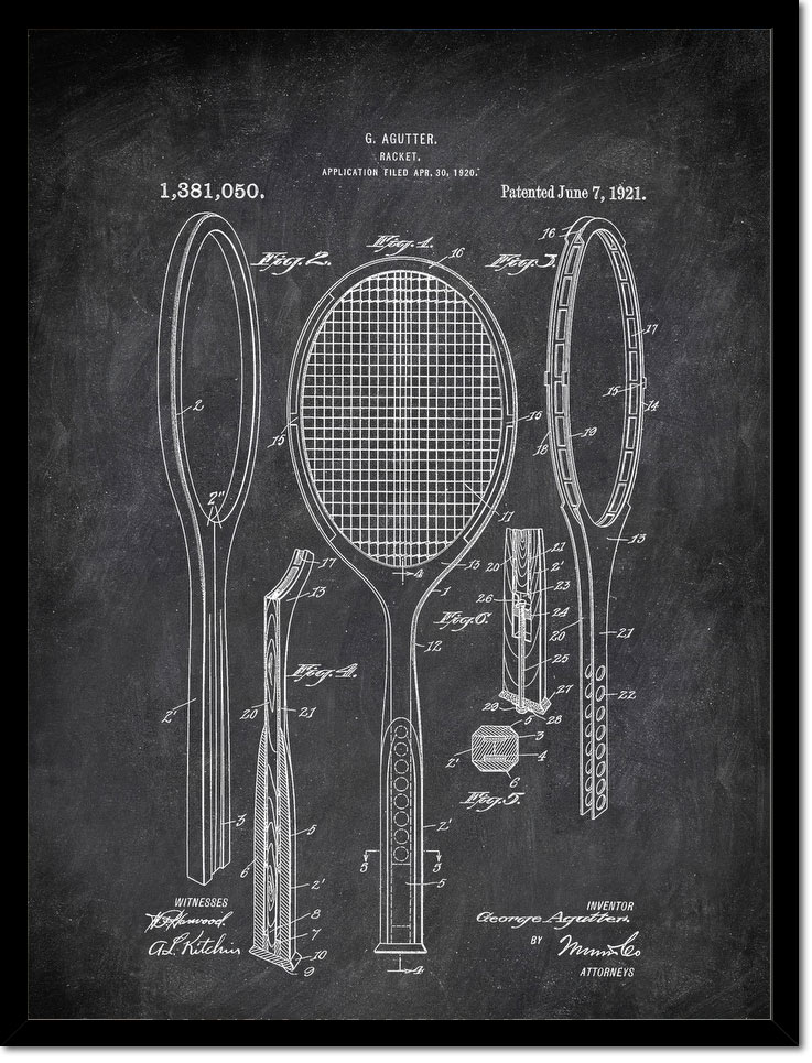 Racket G Agutter 1920 Activities by Patent