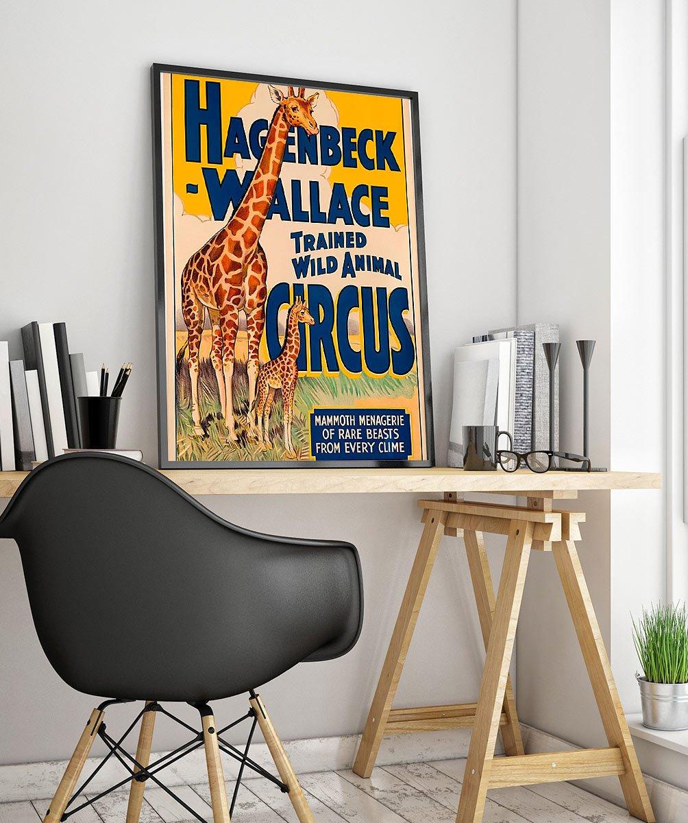 52wpa Cuộc Sống Hoang Dã Vintage Advertisement Poster