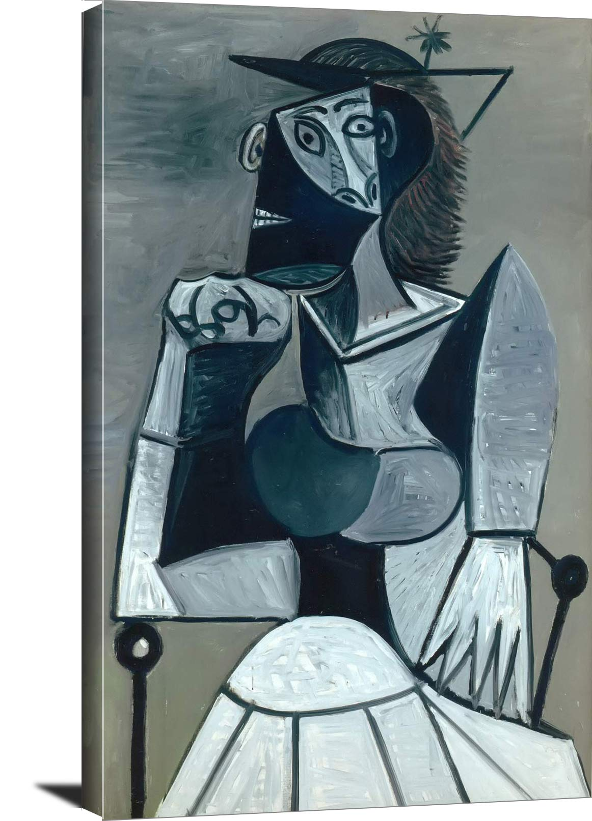 Seated Woman 1945 Pablo Picasso