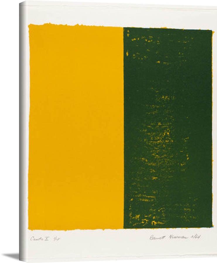 Canto X 1964 by Barnett Newman
