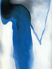 Blue Black And Grey by Georgia O Keeffe
