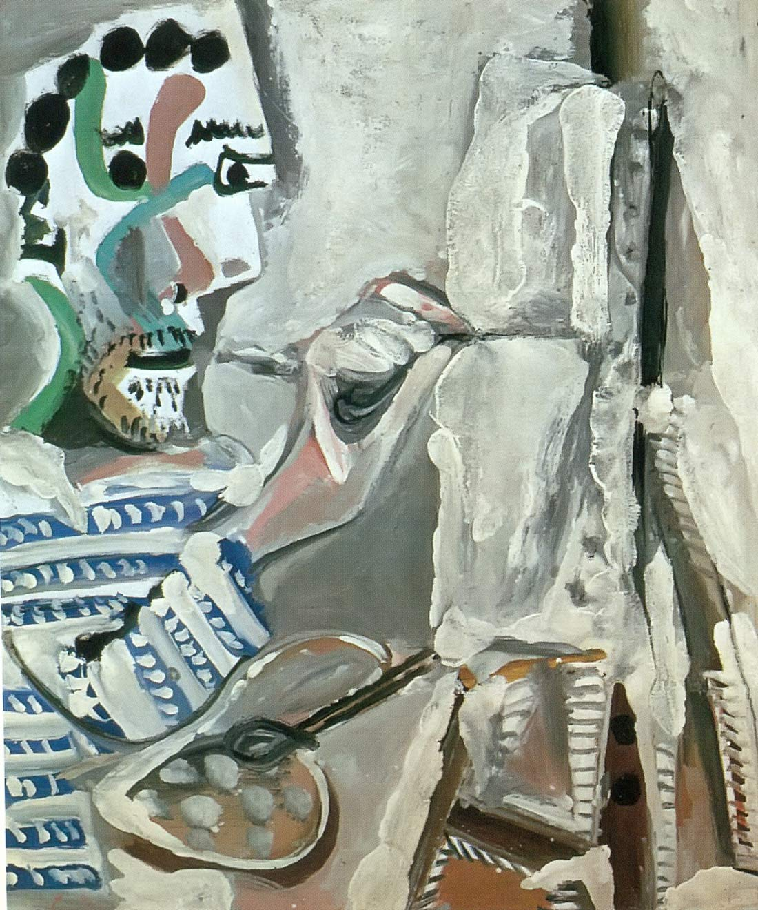 Painter At Work 1965 Pablo Picasso
