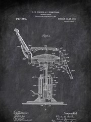 Barber's Ohair A J Rollert 1898 Activities by Patent