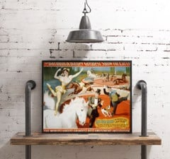 THE BARNUM & BAILEY - Vintage Circus Poster