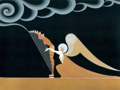 The Angel by Erte