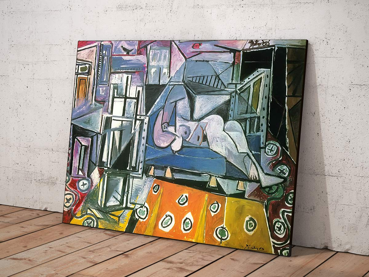 Nude In The Studio 1953 Pablo Picasso