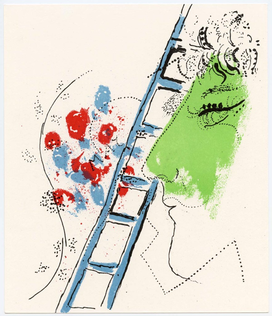 The Ladder Marc Chagall