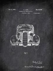 Automobile Or Sinilar Article H J Earl 1934 Transportation by Patent