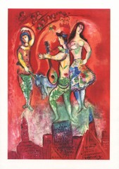 The Triumph Of Music Marc Chagall