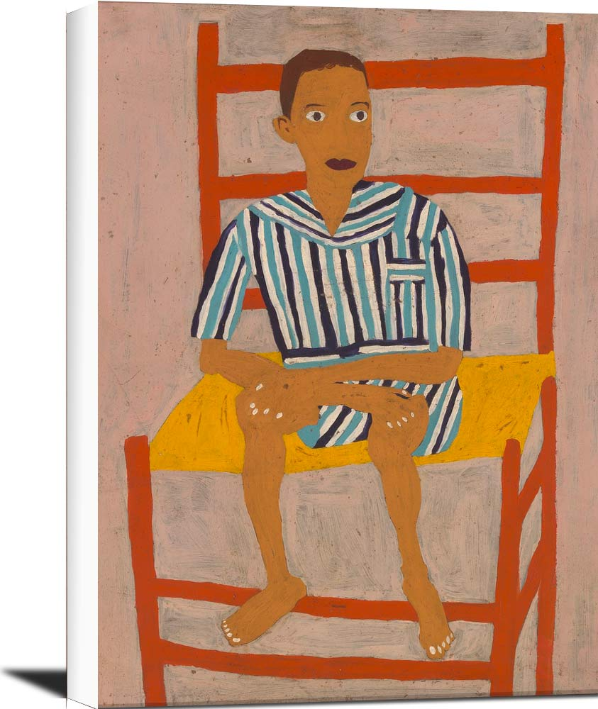 School Boy William H Johnson