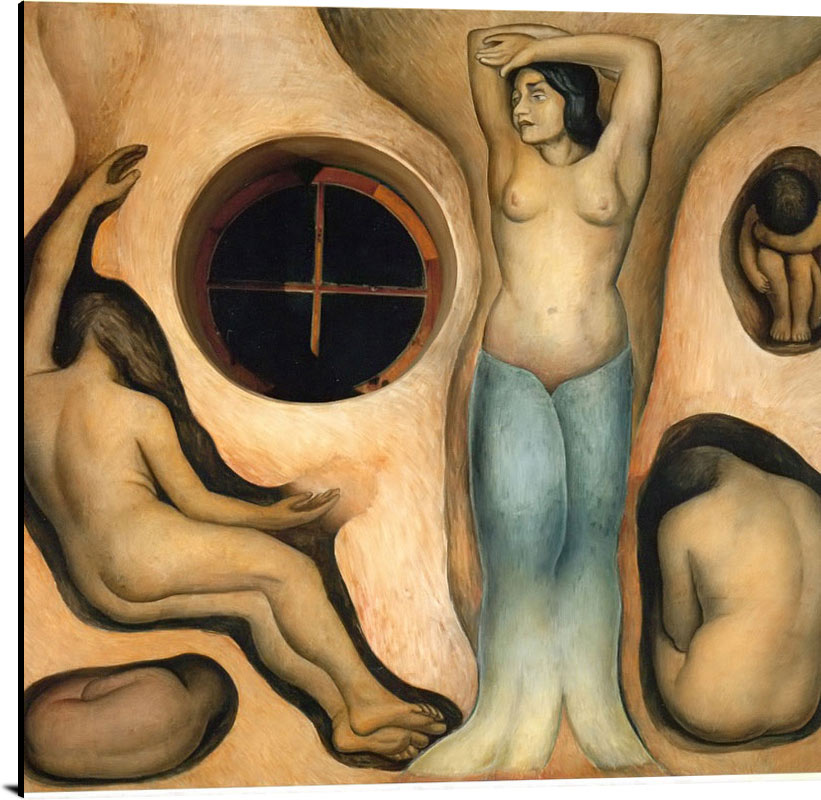 Germination Germination Of The Seeds by Diego Rivera