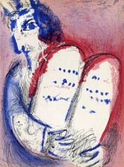 Moses With The Tablets Of Law2 Marc Chagall