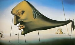 The Dream by Dali